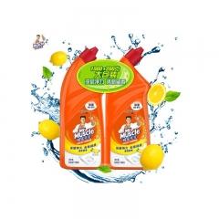 600g*2威猛先生洁厕液双瓶装(柠檬草香)